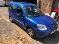 Citroen belingo multi space spares or repairs
