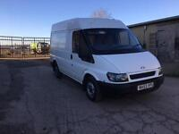 Ford transit mwb will come with 12 month MOT