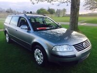 LHD 2004 VW PASSAT 1.9D, ESTATE, DIESEL, LEFT HAND DRIVE