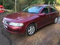 Vauxhall vectra 1.8 MOT til June 17