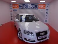 Audi A3 TDI SPORT (£20.00 ROAD TAX) FREE MOT'S AS LONG AS YOU OWN THE CAR!!! (white) 2012