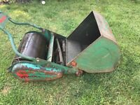 Vintage Webb Hand Push Lawn Mower Melton Mowbray