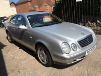 Mercedes-Benz 2.3 CLK 230 Kompressor Elegance - 1 Lady Owner, 12 Months MOT, 10 Services, Low Miles!