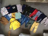 Bundle of boys' 12-18 months clothes
