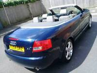 AUDI A4 2004 Sports Cabriolet Mint conditions fully loaded Part exchange welcome