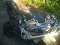 BMW 320 ALPINA CRADLE POWER STEERING DRIVER SIDE SUSPENSION 318 320 325 330 335