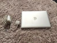 MacBook Pro 13 inch - Late 2011, 2.4GHz i5 Processor, 4GB RAM, 500GB HDD.