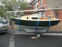 Buckler boats Islander 17 sailing boat for sale, in immaculate condition
