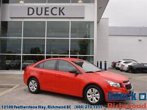 2015 Chevrolet Cruze LS w/2LS BC Vehicle -  LOW Mileage