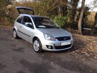 HI SPEC 2007 FORD FIESTA STYLE CLIMATE HI SPEC/LOW INSURANCE EASY TO DRIVE WITH PLENTY OF POWER..