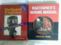 Manualson boat wiring & outboards (2)