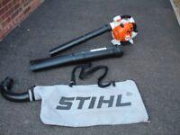 STIHL SH86C LEAF BLOWER VACUUM SHREDDER IN ALMOST NEW MINT CONDITION