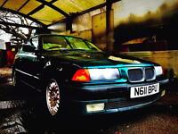 BMW 318 is coupe PRICE DROP AGAIN genuine 76,000 miles from new M.O.T till AUGUST