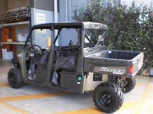 Polaris Ranger Crew Cab ATV Mule Brisbane City Brisbane North West Preview