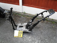 Piaggio nrg 50 power frame / plate 2008 ( will need to apply for v5 )
