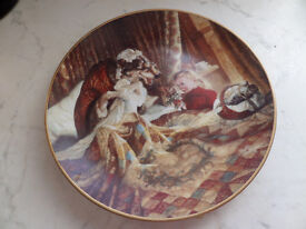 Edwin M.Knowles limited edition collectors plate. Classic Fairy Tales- Little Red Riding Hood.