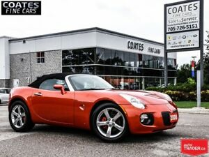 2008 Pontiac Solstice GXP Turbo ~ Clean Car Proof ~