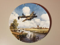 """Royal Doulton """"Lancaster Low Overhead"""" collector's plate No 4469J with hanger"""