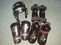 Adult kick boxing safety kit