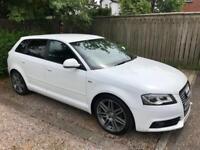 Audi A3 Black Edition 2.0 TDI Sat Nav £30 Road Tax