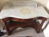 Victorian marble wash stand, finest example