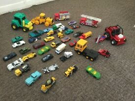 41 cars. trucks and vehicles - good condition