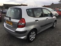BARGAIN 2005 HONDA JAZZ 1.2 HATCHBACK MOT 8 MARCH 19 3 KEYS