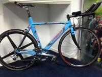 Viner Pro team TT Bike, Columbus Alloy, Ultegra 6700 Groupset 2x10, Spinergy RR