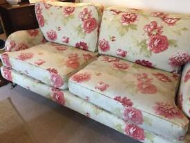 Exquisite quality hand crafted floral sofa