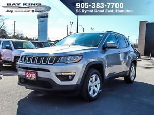 2018 Jeep Compass NORTH, 4X4, BLUETOOTH, AUTOMATIC, CRUISE CONTR