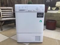 8kg Hotpoint Condensor Tumble Dryer Like New Condition Can Deliver.