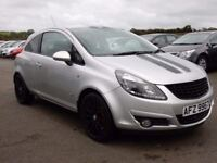 2010 vauxhall corsa 1.2 petrol SXI with only 76000 miles, motd jan 2018