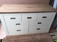 Brand new Washington 7 draw Chest cream / oak
