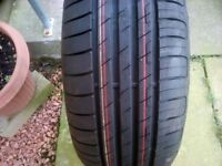 New tyre 215x55x17 goodyear never been fitted bought wrong size