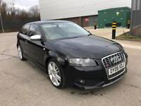 2008 AUDI S3 2.0 TFSI QUATTRO ONLY 87K MILES IMMACULATE £0 DEPOSIT LOW RATE F...
