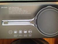5 ply John Lewis milk pan