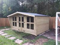 12x8 summer house/sheds