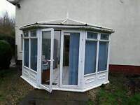 Conservatory approx 3m x 3m reasonable condition