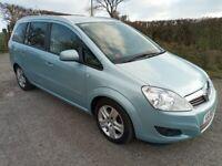 Vauxhall, ZAFIRA 1.7 diesel, MPV, 2010, Manual, 1686 (cc), 5 doors 12 months mot