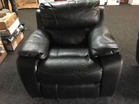 New / Ex Display LazyBoy Black Recliner Chair