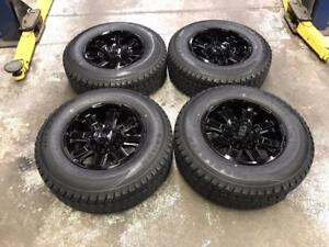 """18"""" FAST Wheels 8x180 and Winter Tire Package (Chevrolet, GMC 3500)"""