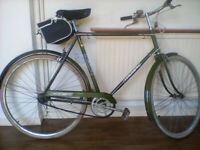 TRIUMPH TRAFFICMASTER VINTAGE CYCLE, IN FULL WORKING ORDER.