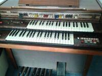 Electric Farfisa Organ.