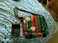 Quicksilver Roxy messenger bag with purse
