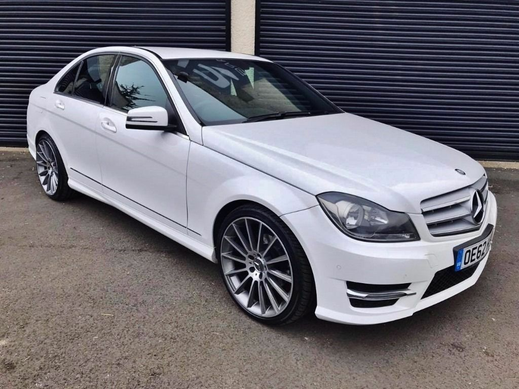 2013 mercedes c250 amg sport blueefficiency auto not c220 c250 c350 audi a4 in ballymena. Black Bedroom Furniture Sets. Home Design Ideas