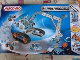 Meccano multimodels 15 models - BRAND NEW, UNOPENED
