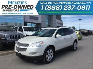 2012 Chevrolet Traverse LTZ AWD, Hands-Free, Navi, ONE OWNER