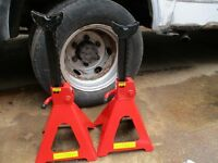 6 ton ratchet axle stands HEAVY DUTY