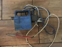 Soldering iron with transformer British telecom