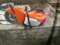 Stihl petrol stone saw